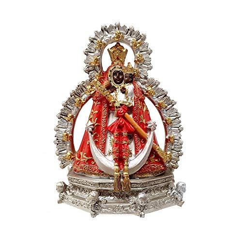 Inmaculada Romero IR Figura Virgen De La Cabeza Imagen 11Cm. Adorno Resina Peana Decoración