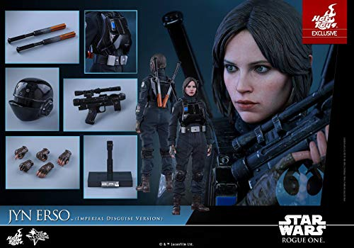 Hot Toys 1/6 Rogue One A Star Wars Story MMS419 Jyn Erso Imperial Disguise Figure Exclusive