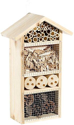 Royal Gardineer Bienenhotels: Insektenhotel Flora - Nisthilfe für Nützlinge (Nistkästen)