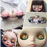 non-brand Mecanismo de Marco de Ojos para 12 Pulgadas RBL Neo Takara Blythe Doll Custom DIY Making - Dark Tanned
