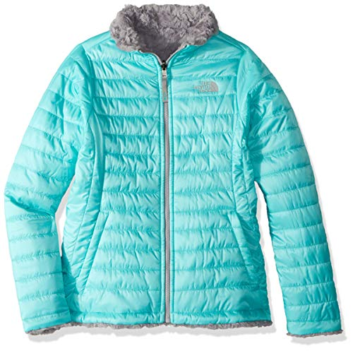 The North Face Girl's Reversible Mossbud Swirl Jacket - Mint...
