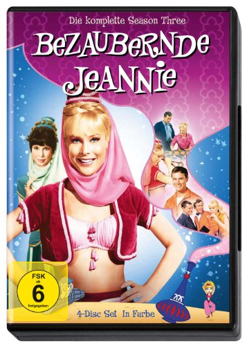 Bezaubernde Jeannie - Season 3 (4 DVDs)