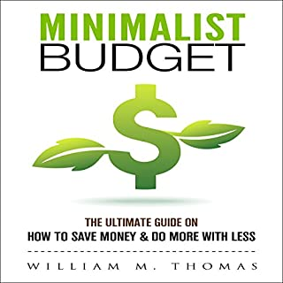 Minimalist Budget audiobook cover art
