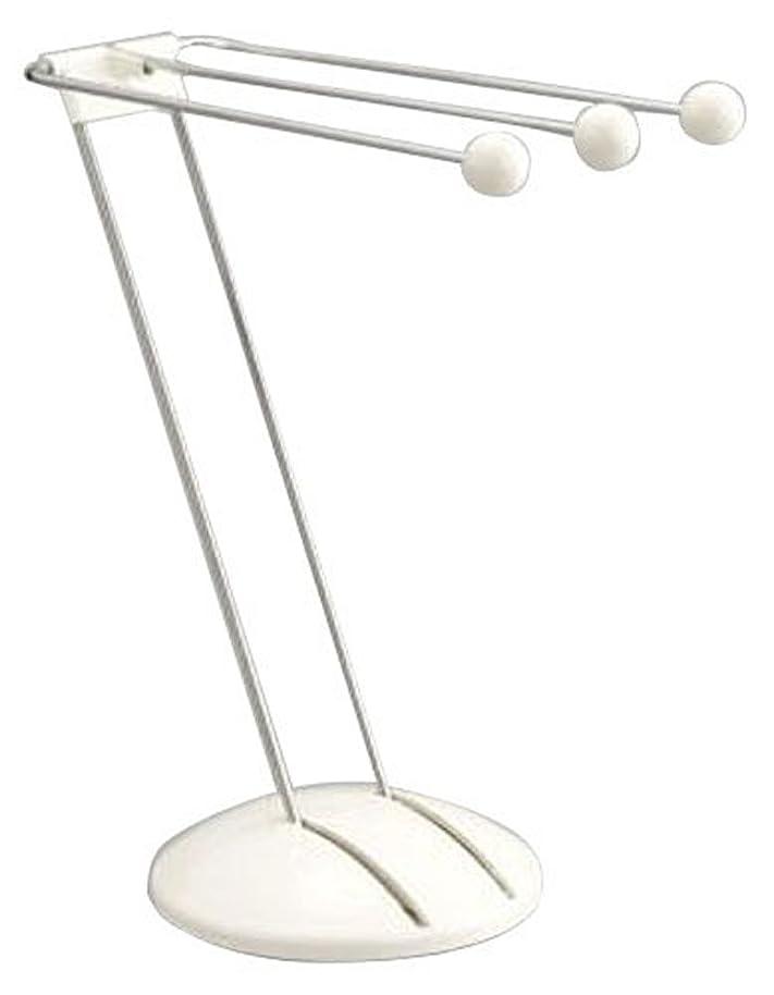 パーツライドパズルBelca ふきん掛け スタンドタイプ 幅13×奥行25.8×高さ26.8cm ホワイト ST-FKW