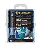 Chameleon Art Products - 5 Color Tops; Puntas de mezcla Chameleon; Tonos Azules