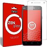 ZenGlass Flexible Glas-Folie kompatibel mit Wiko Rainbow Panzerfolie I Bildschirm-Schutzfolie 9H