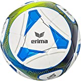 Erima Hybrid Training Ballon de Football Mixte Adulte, Royal/Lime, Taille 5