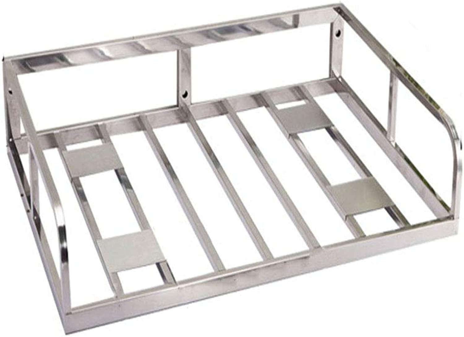 Kitchen Shelf Microwave Shelf Load-Bearing Strong Thickening Widened Stainless Steel Wall-Mounted Kitchen Storage Single Layer 21.6  4.1  15 Inches