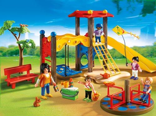 Ensemble de Terrain de Jeu pour Enfant Playmobil - 1