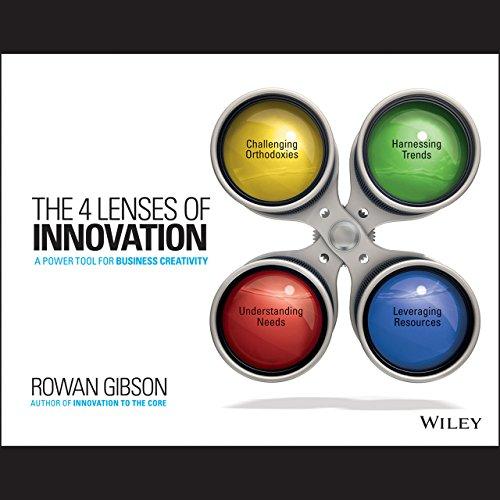 The 4 Lenses of Innovation audiobook cover art