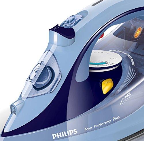 Philips Azur Performer Plus GC4527/00 – Plancha de Vapor 2600W, golpe