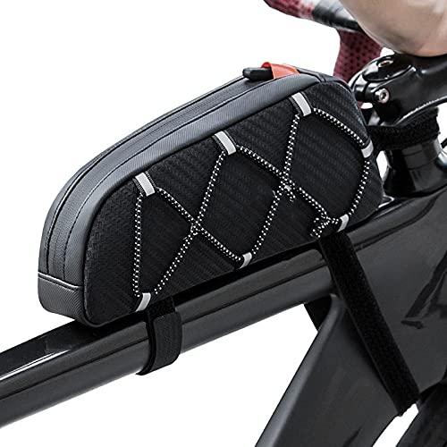 LINGJIANG Bolsa de Bicicleta Bolsa para Maletero de Bicicleta Bolsa para Bicicleta...