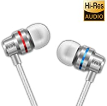 Earbuds Ear Buds in Ear Headphones Wired Earphones with Microphone Mic Stereo and Volume..