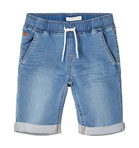 NAME IT Jungen NKMRYAN DNMTHAYER 1314 SWE LSHORTS NOOS Shorts, Light Blue Denim, 164