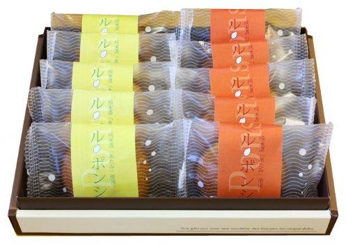 【純米酒あたみ・伊豆ダイダイ・ニューサマーオレンジ使用】ル・ポンシュ(10個入)
