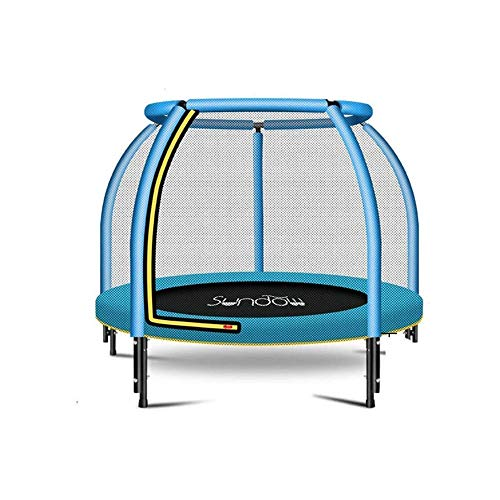 LKNJLL 48' Mini Trampoline For Kids - Outdoor & Indoor Trampoline | Birthday Gifts For Kids, Gifts for Boy and Girl,Baby Toddler Trampoline Toys