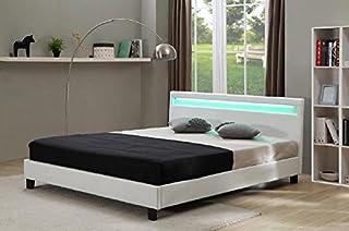 lit LED pour Une Personne 90 * 90 très Moderne Couleur Blanche