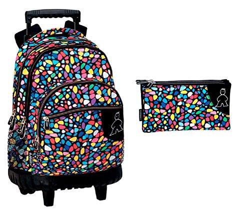 Montichelvo Montichelvo Backpack A.O. M&L Kiss Me Cartella, 43 cm, Multicolore (Multicolour)