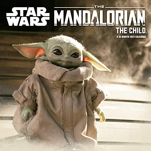 "2021 Star Wars Mandalorian - The Child Mini - 7"" x 7"" Calendar"