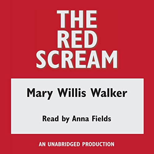 The Red Scream audiobook cover art