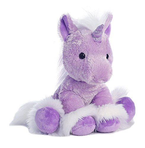 Purple Plush Unicorn