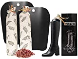 Boot Shapers for Tall Boots Women,Boot Trees Cedar Freshner,Inserts Boots Support for Women 100% Natural Cedar Sachets Bags