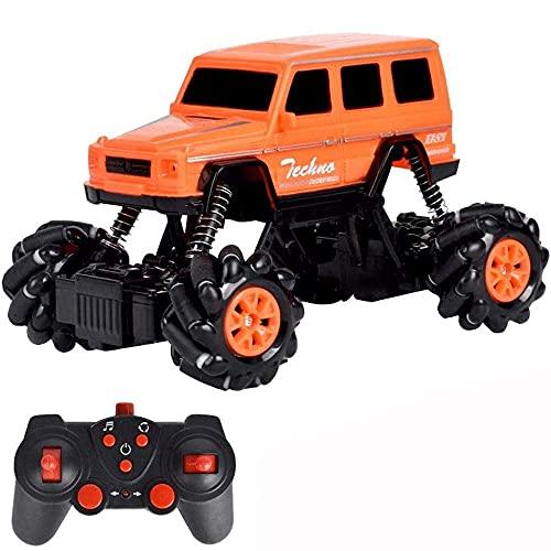YAMMY 1:18 neumático Antideslizante Monster RC Truck multidireccional Drift Stunt Control Remoto Coche de Alta Velocidad 4WD Off-Road RC Vehicl (Coche Inteligente RC)
