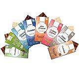 8 x Xylit Schokolade im Mix Probierset Xucker Schokolade Genussleben Mix -