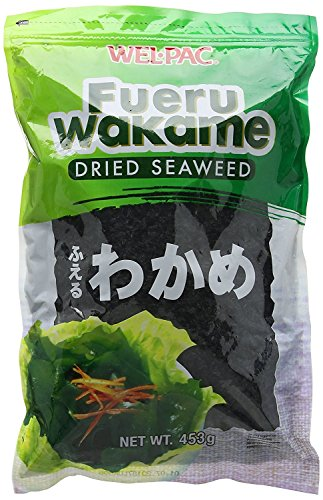 Wel-Pac Dried Seaweed Fueru Wakame For Soup And Cooking, 1 lb.