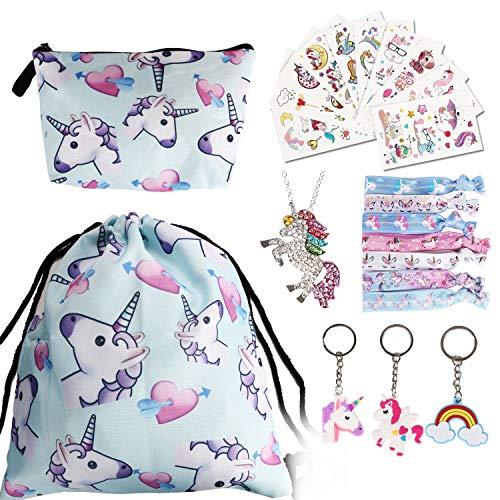 zaino unicorno URAQT Sacca per Bambine Unicorno