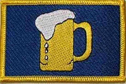 U24toppa Boccale di birra applicazione Patch