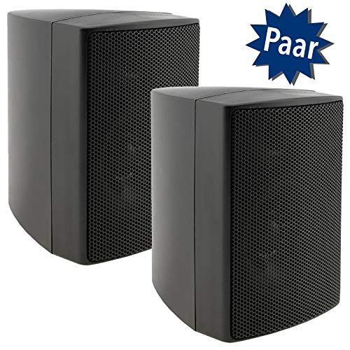 ChiliTec - Altavoces de pared (2 vías, 40 W, 8 ohmios)