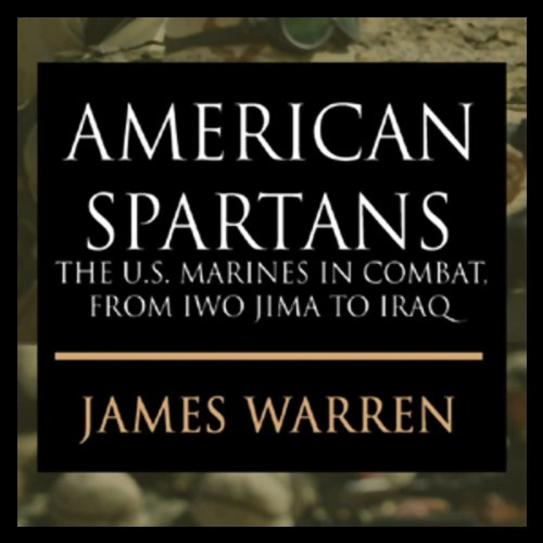 American Spartans audiobook cover art