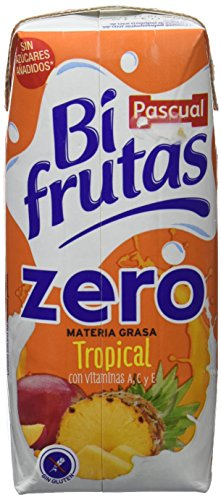 Caja De 6 Packs De Bifrutas Tropical Zero M.G 330 Ml