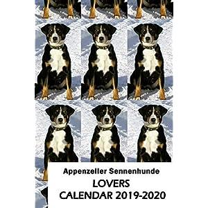 Appenzeller Sennenhunde Lovers Calendar 2019-2020 28