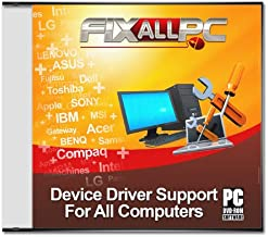 Fixallpc Universal Driver DVD Software for HP Compaq 6715b (RM178UA#ABA)