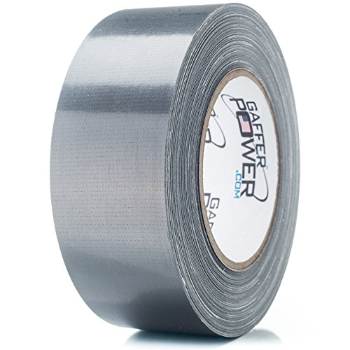 Duct Tape | USA Made Quality | Waterproof | Heavy Duty Powersteel | Silver | 2 in X 25 Yds | by Gaffer Power