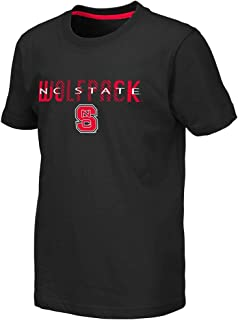 Colosseum Youth NC State Wolfpack Tucuman Short Sleeve Tee Shirt