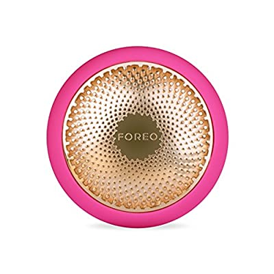 FOREO UFO Smart Mask Spa level Treatment Device Pearl Pink Face Mask in Just 90 Seconds Facial Mask Treatment with Thermo/Cryo/LED Light Therapy and Sonic Pulsation, Dedicated Smartphone App, Fuchsia from Foreo