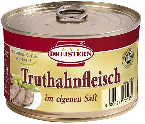 Dreistern Truthahnfleisch, 400 g