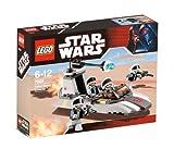 LEGO Star Wars 7668 Rebel Scout Speeder - Deslizador Explorador rebelde