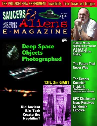 Saucers & Aliens Magazine Issue #4 (English Edition)