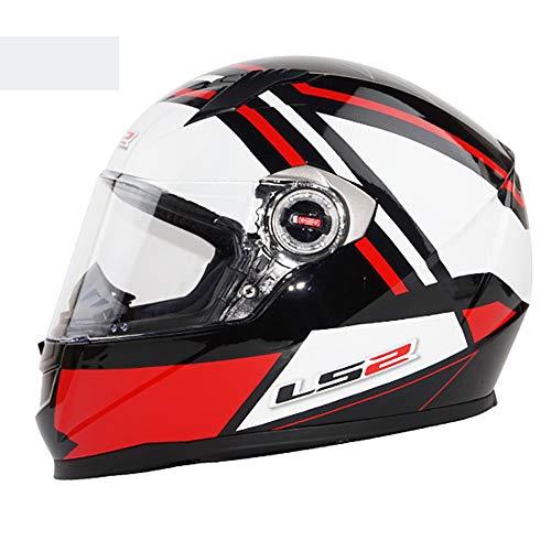 CX Best MX Motorradhelm Vintage Motorradhelm Schlagfestigkeit Offroad Helme Fly Racing Dual Sport Leichter Atemschutzhelm,L