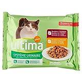 Ultima Bouchées pour Chat Protection Système Urinaire pour Chat 4 x 85 g - Lot de 5