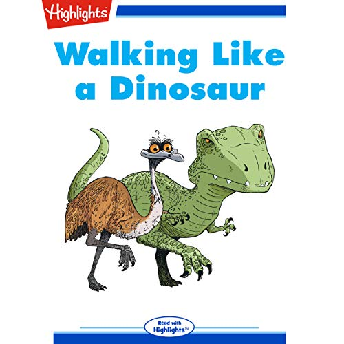 Walking Like a Dinosaur copertina