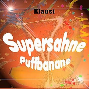 Supersahne Puffbanane