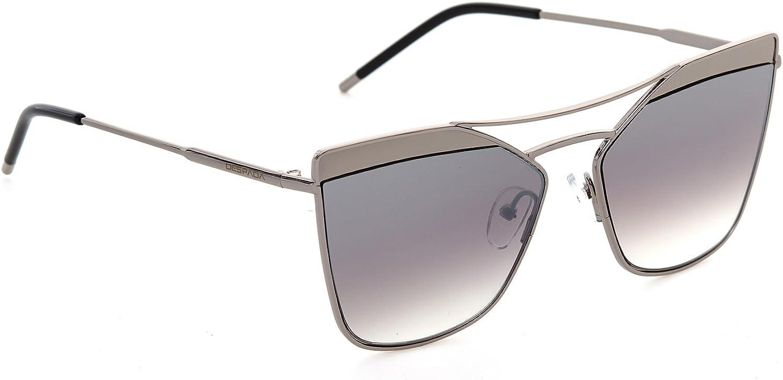 DESPADA, Made In ITALY Retro Fashion Cat Eye Women Sunglasses Metal Frame Plastic Lens DS1520