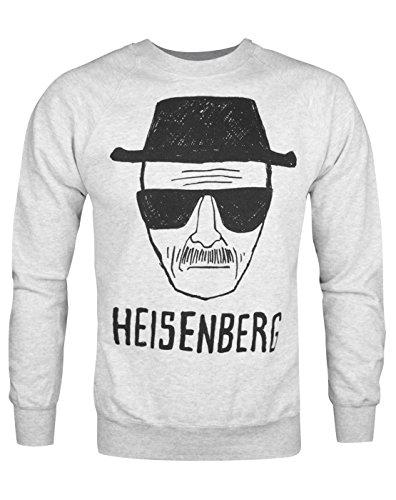 Official Brand Breaking Bad Heisenberg Sketch Men's Sweater