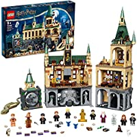 LEGO 76389 Harry Potter Hogwarts Chamber of Secrets Modular Castle Toy with The Great Hall, 20th Anniversary Set with...