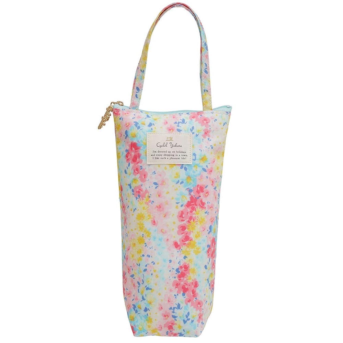 吸い込む雇う担保保冷ペットボトルカバー(Bタイプ) 旅行 レジャー かわいい 傘ケース ボトルケース 花柄